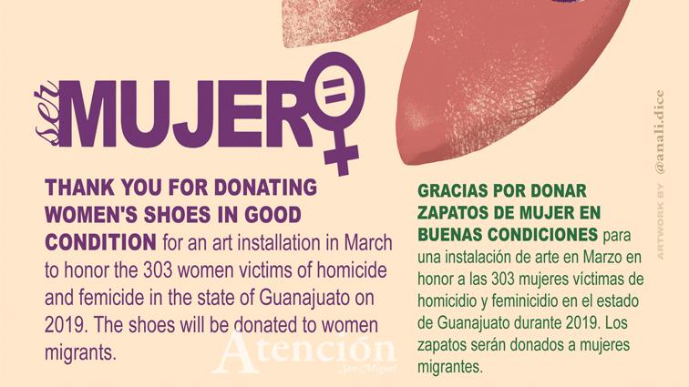 """""""En Los Zapatos de Ella""""—An Installation Against Femicide in Guanajuato"""