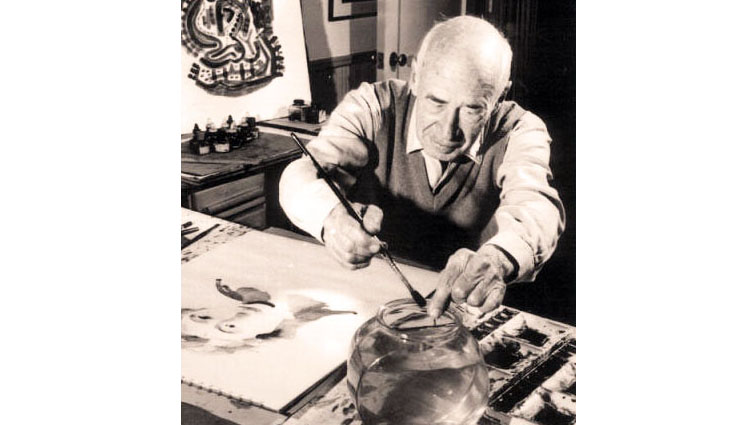 "The Painter Henry Miller, ""When I Write, I Work. When I Paint, I Play."""