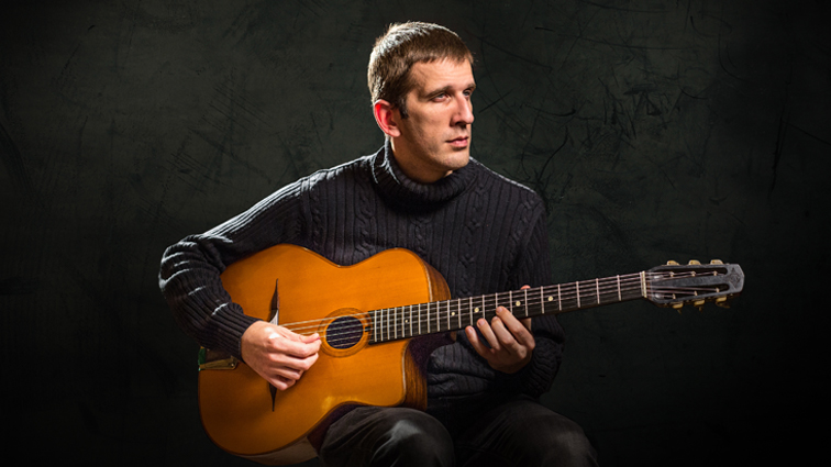 Sébastien Giniaux, One of the Best Gypsy Jazz Guitarists in the World!