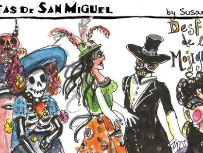 """""""Vistas de San Miguel"""" is a graphic reportage of scenes and events in San Miguel de Allende"""