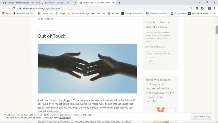 Mental Health: Skin Hunger