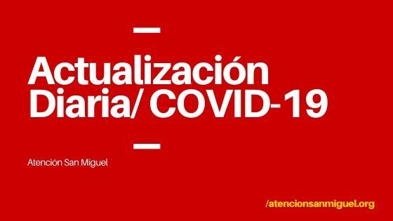 Actualización Diaria Covid 19