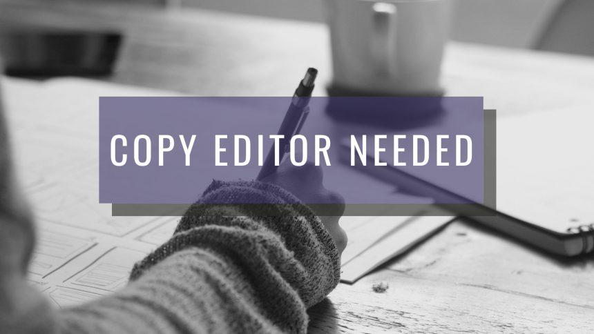 Atencion Is Looking For a Copy Editor