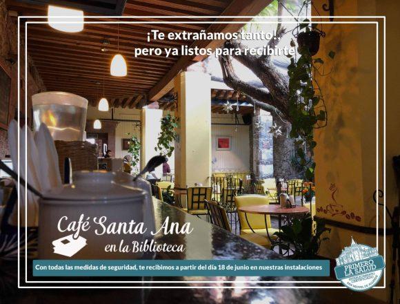 Abre Café Santa Ana