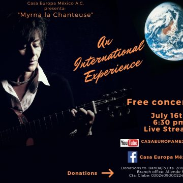 "Casa Europa Presents ""Myrna la Chanteuse"""