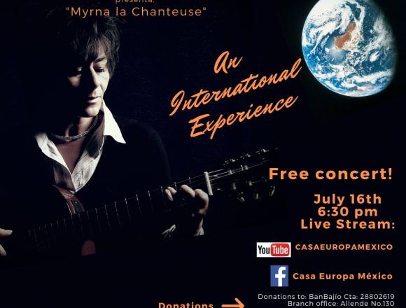 "Casa Europa Presents ""Myrna la Chanteuse"""