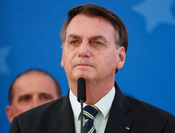 Jair Bolsonaro, President of Brazil tests positive for covid19