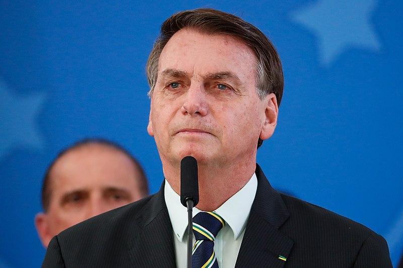 Jair Bolsonaro, President of Brazil tests positive for covid19