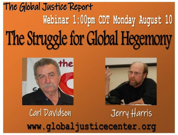 The Struggle over Global Hegemony: Center Of Global Justice