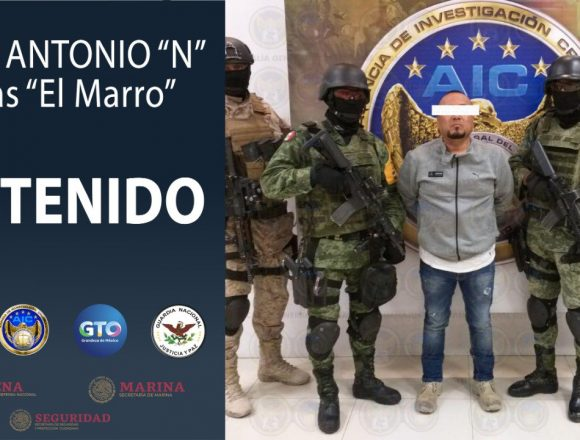 """El Marro"" Is Arrested"