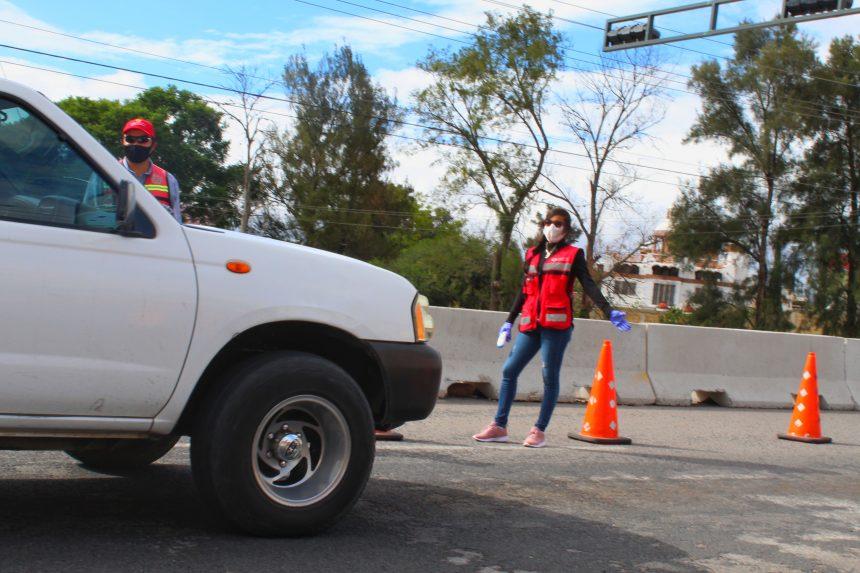 Agresiones en filtros de ingreso a San Miguel