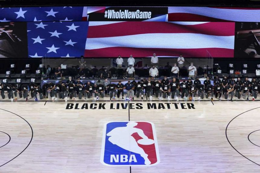 Las protestas pro Jacob Blake y #BlackLivesMatters llegan a la NBA