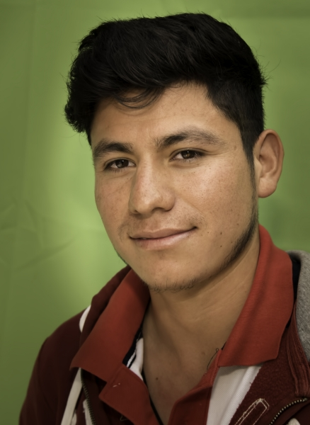 Leadership In Action: JA student Vicente Espinoza leads his community in getting a cobblestone road