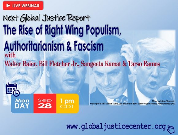 """Lecture """"Rise of Right Wing Populism, Authoritarianism, Fascism"""""""
