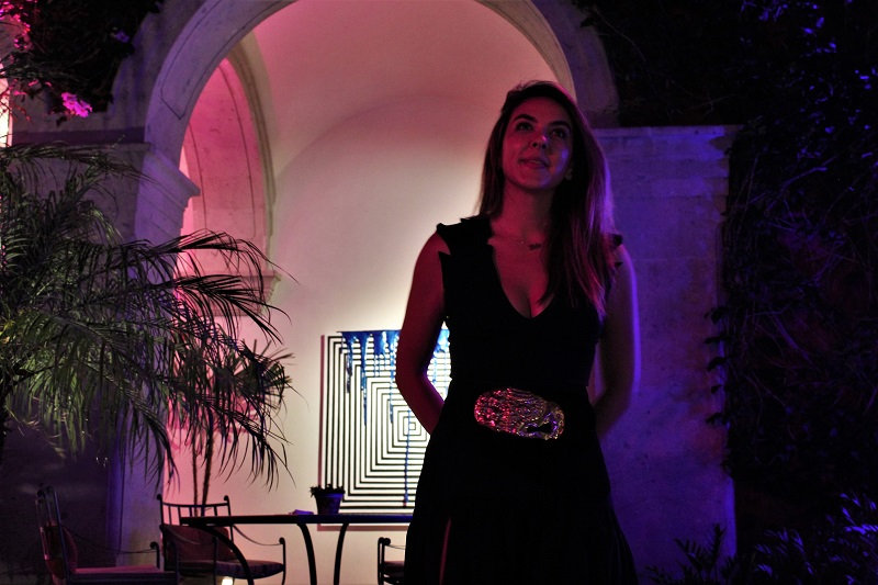 "Lola Villegas presents her exhibition ""Thaumaturgy"" at Rosewood in San Miguel de Allende"