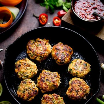 Street Food, Fish Cakes and Fried Rice