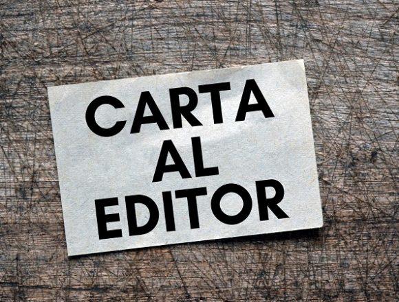 Carta Al Editor: Servicios Legales