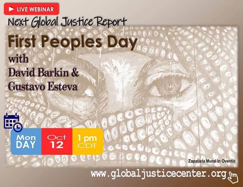 Lecture: First Peoples' Day: What Can We Learn from Indigenous Cultures?
