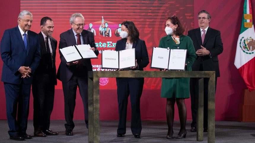 México garantiza 100 millones de vacunas contra Covid-19