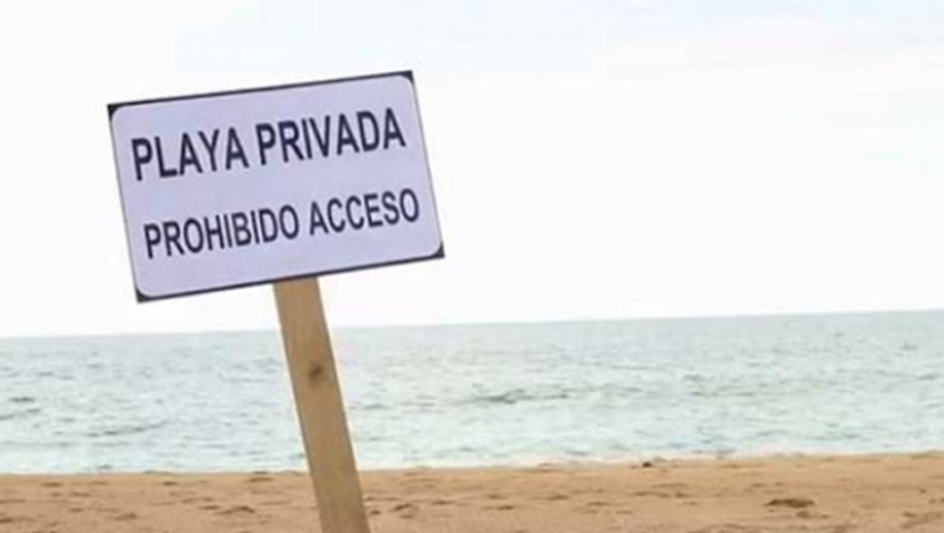 Free access to Mexican beaches is guaranteed