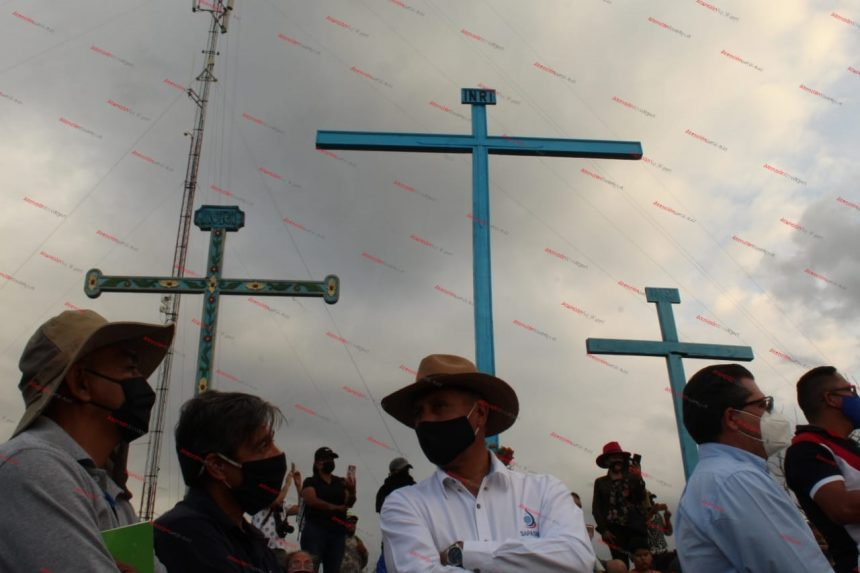 Amenazada la panorámica de Las Tres Cruces, y el sitio ritual