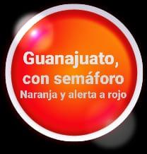 Naranja, con alerta a rojo es el semáforo