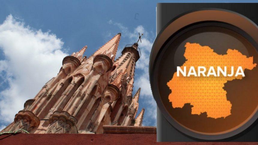 Guanajuato Regresa A Color Naranja