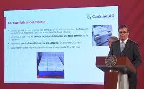 Llegan vacunas para prueba fase 3 a México