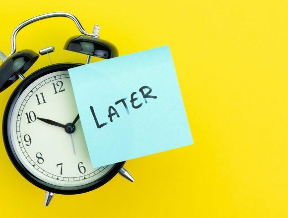 Ask Dr. Alan: Procrastination