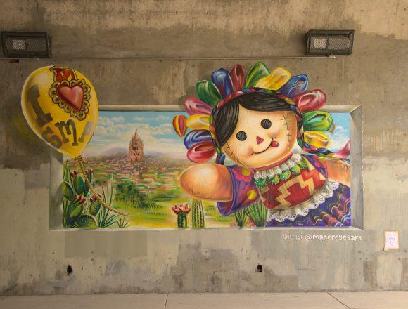 Urban Gallery in San Miguel de Allende