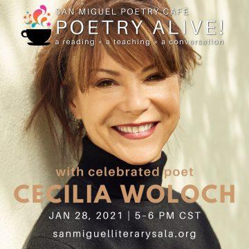 San Miguel Poetry Café Presents Acclaimed Poet Cecilia Woloch