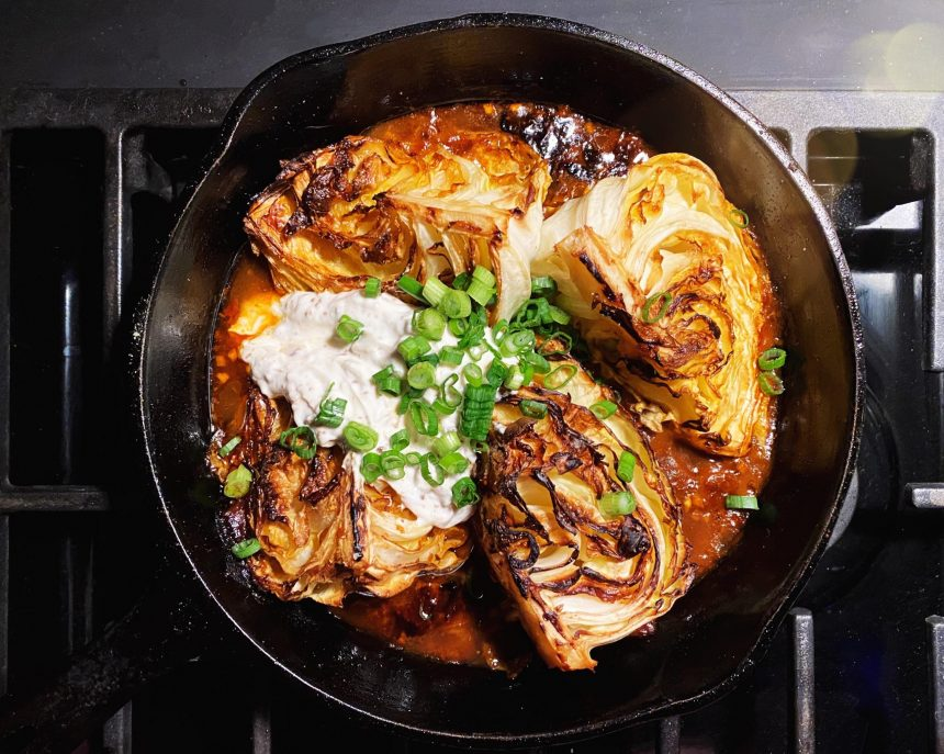 Fall-Apart Caramelized Cabbage