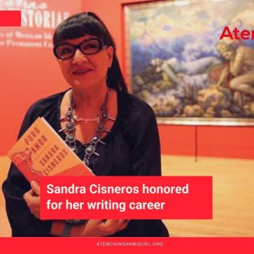 Sandra Cisneros honored for her writing career