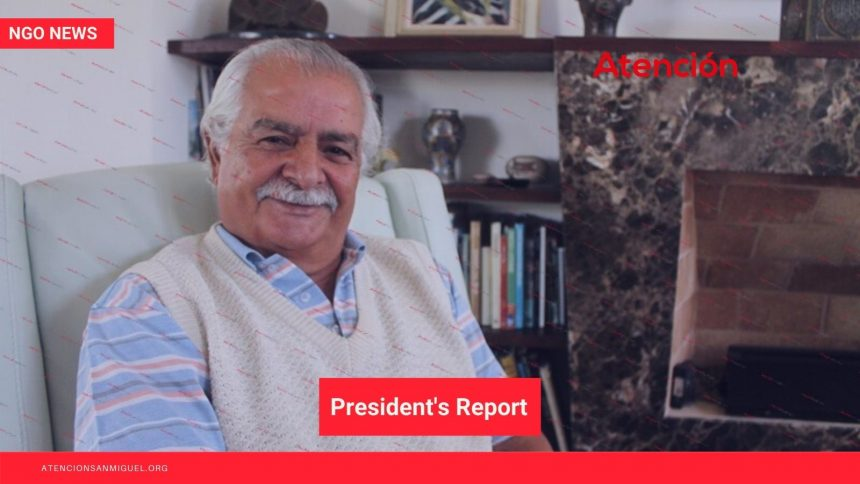 The President's Report, March 2021