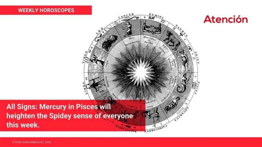 Weekly Horoscopes March 21