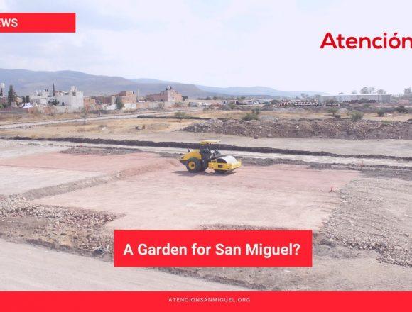 A Garden for San Miguel?