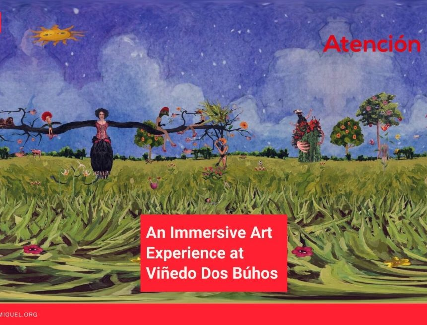 One Sunday Afternoon: An Immersive Art Experience at Viñedo Dos Búhos