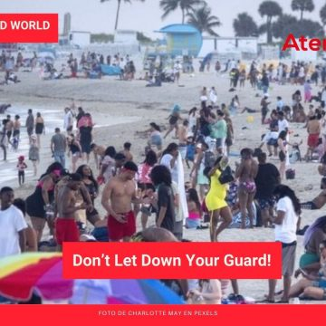 Living in an Upended World: Don't Let Down Your Guard!