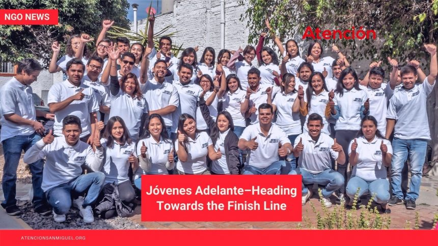 Jóvenes Adelante–Heading Towards the Finish Line