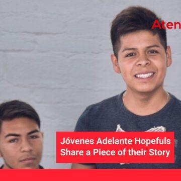 """Jóvenes Adelante Hopefuls Share a Piece of Their Story: Part 5, """"Pablo"""""""