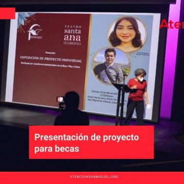 Presentación de proyecto para becas