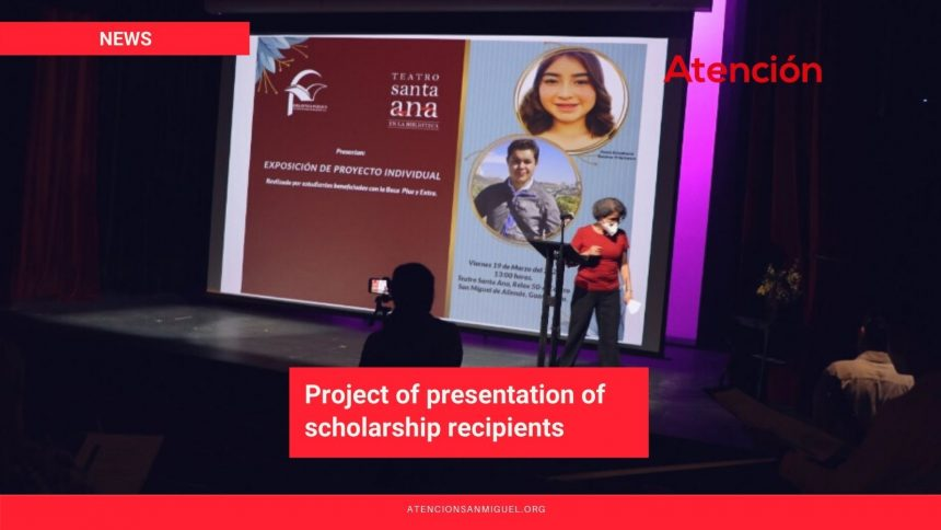 Project of presentation of scholarship recipients