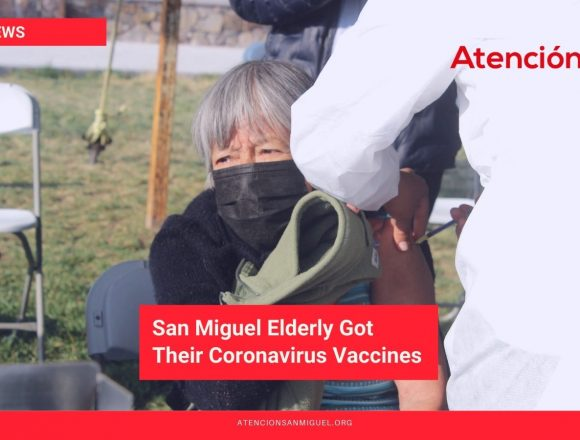 San Miguel Elderly Got Their Coronavirus Vaccines