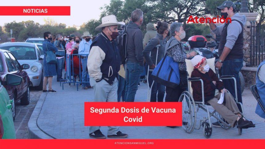 Segunda Dosis de Vacuna Covid