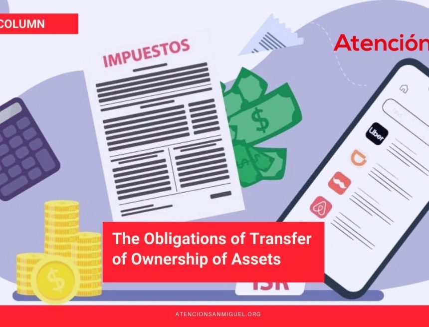 The Obligations of Transfer of Ownership of Assets