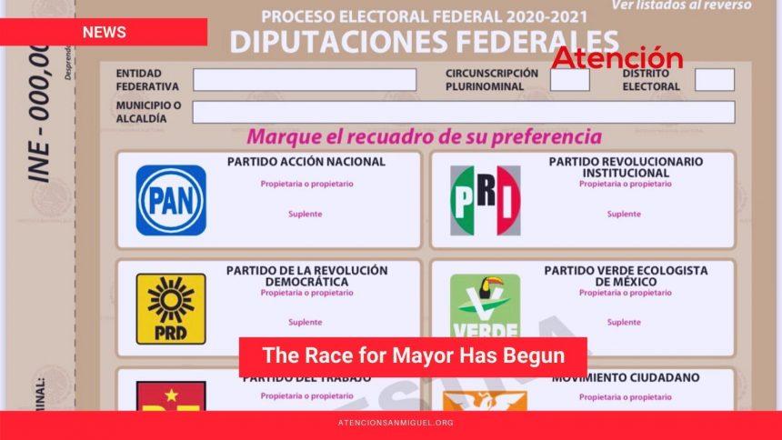 The Race for Mayor Has Begun