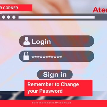Remember to Change your Password