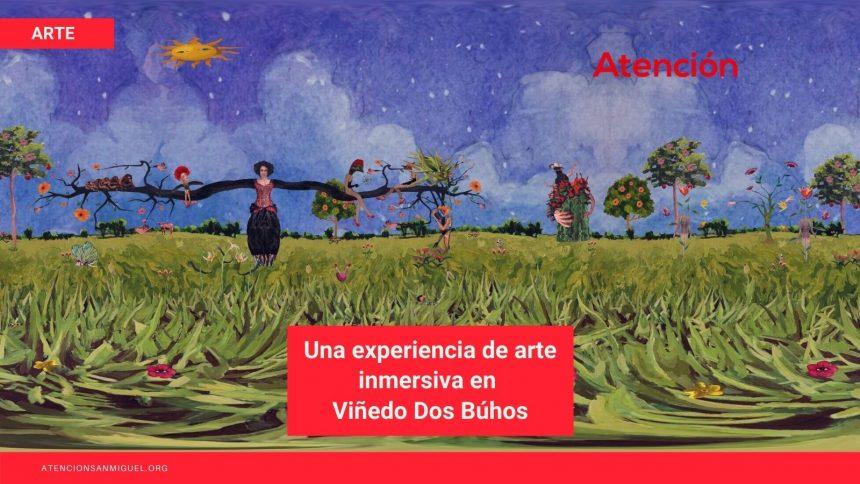 Una tarde dominical: una experiencia de arte inmersiva en viñedo dos búhos