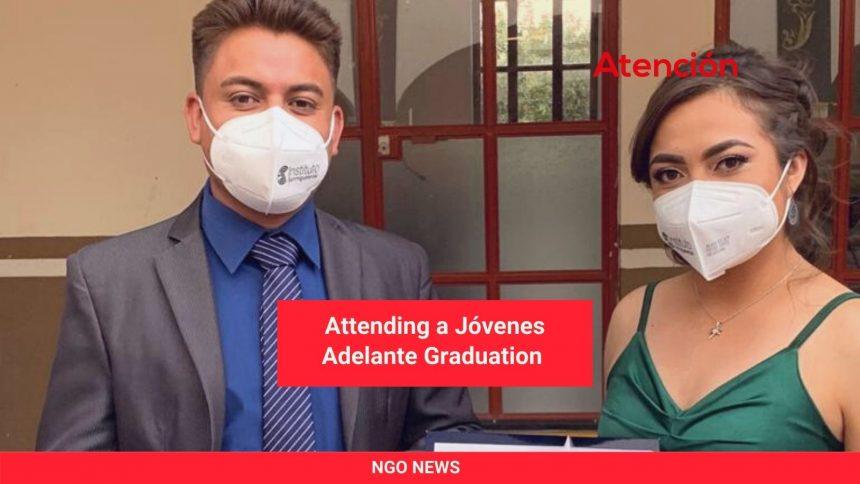 Enhorabuena: Attending a Jóvenes Adelante Graduation