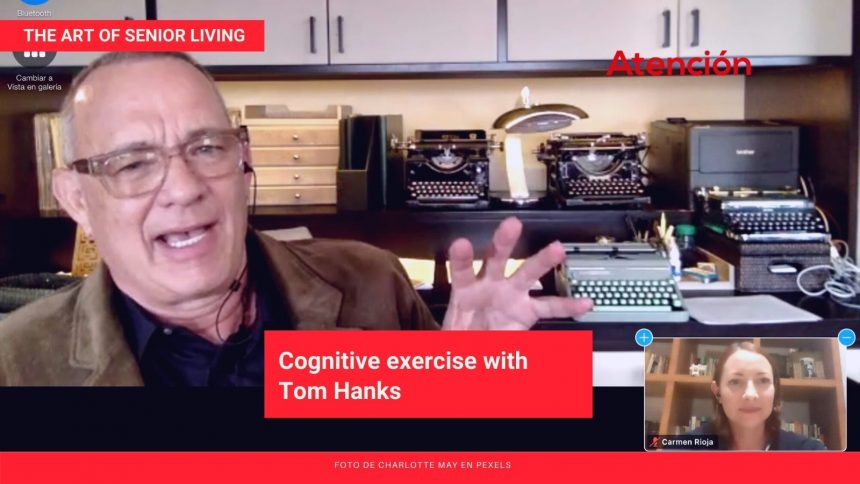 Cognitive exercise with Tom Hanks